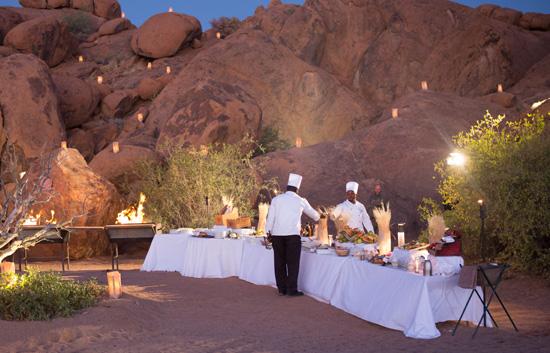 Sossusvlei Activities Outdoor Functions Amp Bush Dinners