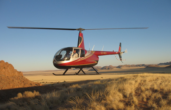 Discover Sossusvlei via Helicopter