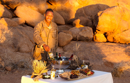Sundowner Drinks and Snacks