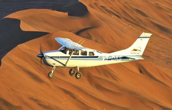 Scenic Flights over Sossusvlei Lodge