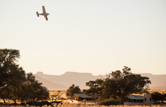 Scenic Flights over Namib Desert
