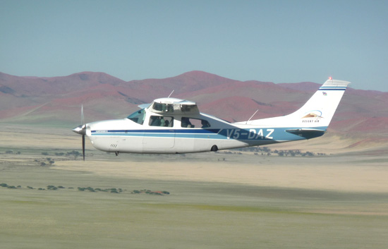 Scenic Flights at Sossusvlei
