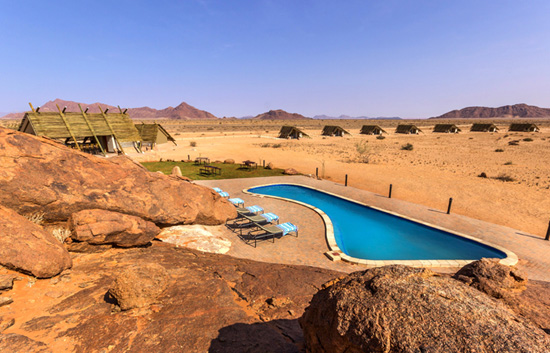 Desert Quiver Camp Sparkling Pool