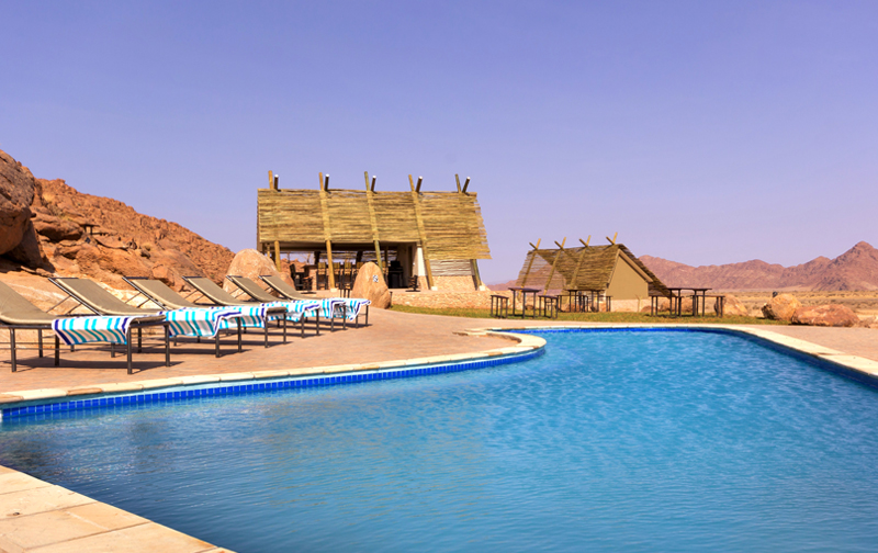 Desert Quiver Camp Pool
